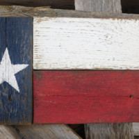 Texas Flag, Wood Texas Flag, Texas Gift, 8x11