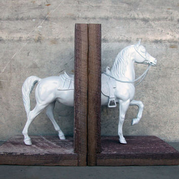 EQUINE COLLECTION western cow pony bookend
