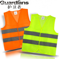 Reflective Vest Working Clothes Provides High Visibility Day & Night For Running Cycling Warning Safety Chaleco Reflectante