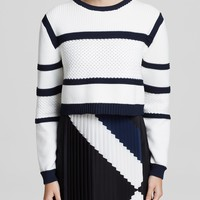 Tibi Sweater - Sailor
