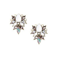 Faux Gem Earrings