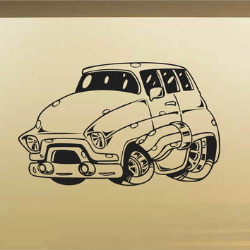 Chevy Panel Car Wall Decal - Auto Wall Mural - Vinyl Stickers - Boys Room Decor
