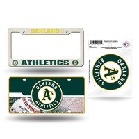 Oakland Athletics MLB 3 Piece Auto Value Pack
