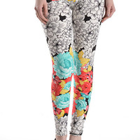 Printed Leggings - Print 11