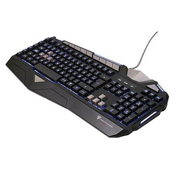 Gaming Keyboard Aerocool TK25 USB 1000 Hz Black
