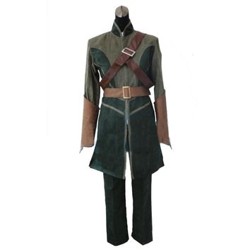 2016 Hot Selling halloween costumes the Lord of the rings The hobbit Legolas cosplay costume