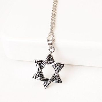 Jewelry Shiny Stylish New Arrival Gift Star Strong Character Alloy Necklace [10467600212]