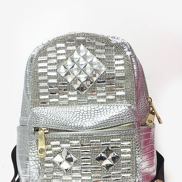 All Shine Hype Backpack - Silver