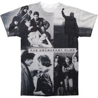 Breakfast Club Men's  Breakfast Club All Over Sublimation T-shirt White