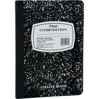 Walmart: Mead Square Deal Composition Book, 100-Count, College Ruled, Black Marble