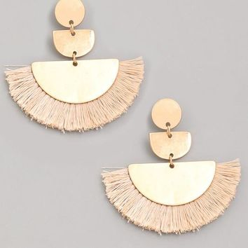 Wild & Free Earrings - Sand