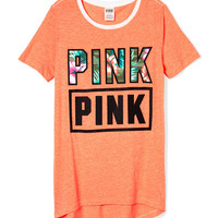 High-Low Tee - PINK - Victoria's Secret
