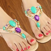 Gem Flip Flops from magisteriall