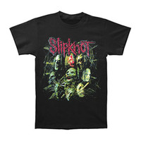 Slipknot Men's  Snake Scales T-shirt Black Rockabilia