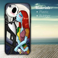 Love The Nightmare Before Christmas Jack and Sally Kiss iPhone 4/4S, 5/5S, 5C,6,6plus,and Samsung s3,s4,s5,s6