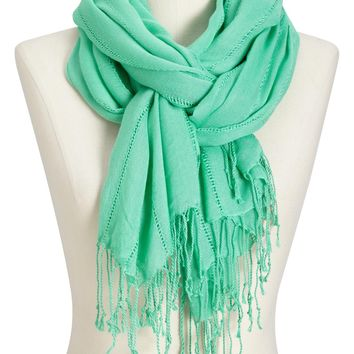 Women's Gauze Drop-Stitch Scarves | Old Navy