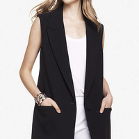 SLEEVELESS COAT from EXPRESS