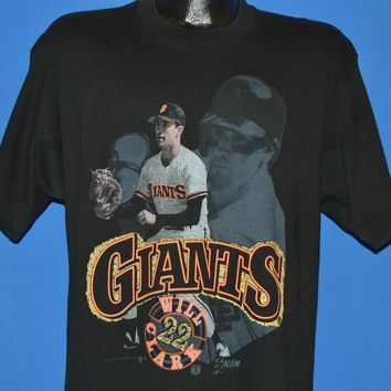 90s San Francisco Giants Will Clark MLB t-shirt Large