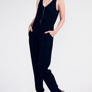 Black Gunner Jumpsuit