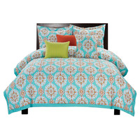 You should see this Oasis 6 Piece Printed Comforter Set in Blue on Daily Sales!