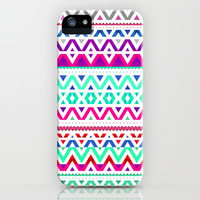 Neon Mix #2 iPhone & iPod Case by Ornaart