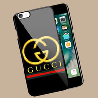 TOP!!!Gucci.x0x Stripe Case For iPhone 6 6s 6 6s+ 7 7+ 8 8+ X Samsung Note Edge