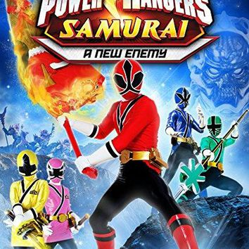 Alex Heartman & Erika Fong & Peter Salmon & Luke Robinson -Power Rangers Samurai: A New Enemy - Volume 2