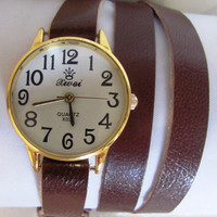 Delicate Women Wrist Watch - Fashion Bracelet. 20% Off - 64 Dollars Only. FREE SHIPPING