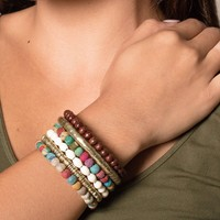 Fair Trade Kantha Stack Bracelet