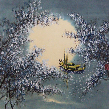 Original painting oriental art chinese art chinese by art68