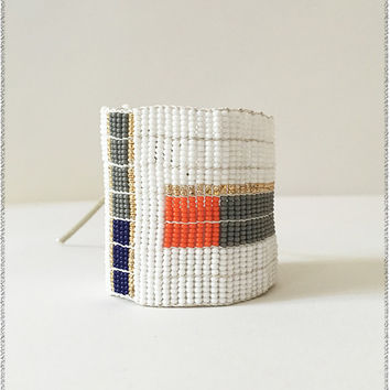 Block Color Warrior Bracelet
