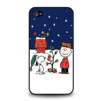 CHARLIE BROWN PEANUTS COMICS SNOOPY iPhone 4 / 4S Case