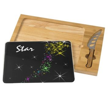 Christmas Star Cheese Board