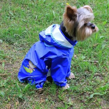 BENMEI Dog Raincoat Hoodies Clothes For Small Medium Dog For Pet Girl Dog Chihuahua Pet Rain Coat Jacket Costumes For Pet Dog