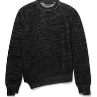 Alexander McQueen - Asymmetric Wool and Cashmere-Blend Sweater