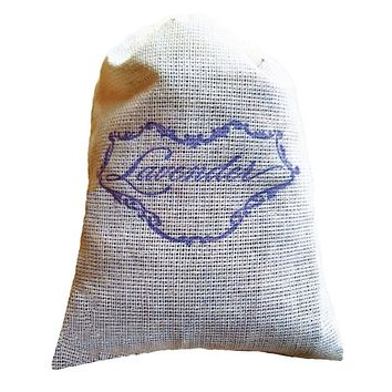 Lavender Floral Sachet - wedding, bridal or baby shower favors