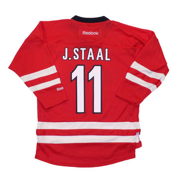 Jordan Staal Carolina Hurricanes Reebok Child Replica (4-6X) Home NHL Hockey Jersey