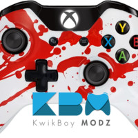 Blood Splatter Xbox One Controller