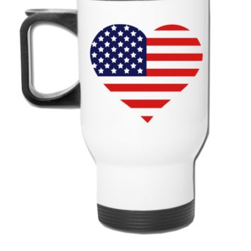 American Heart - Travel Mug