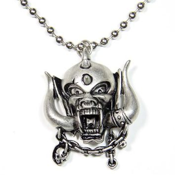 Motorhead Necklace - Snaggletooth