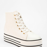 Urban Outfitters - BDG High-Top Flatform-Sneaker