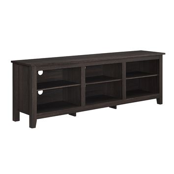 "70"" Essentials TV Stand - Espresso -Walker Edison"