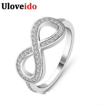 50% off Wedding Rings Joyas Vintage Ring Silver Color