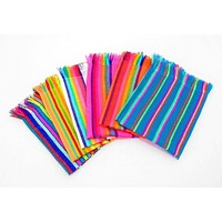 Mexican Woven Cloth Napkins, Fiesta Party Decorations, Cinco de Mayo Party Decor NAP002