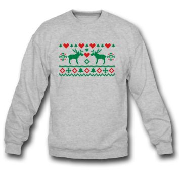 Christmas Moose Sweatshirt