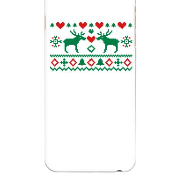 Embroidery Christmas - iphone 6 Plus Case
