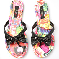 Iron Fist Sweets For My Sweet Sandals - Pink / Multi