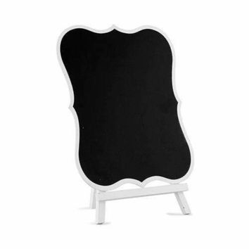 Chalkboard Sign With White Frame - Large White (Pack of 1)