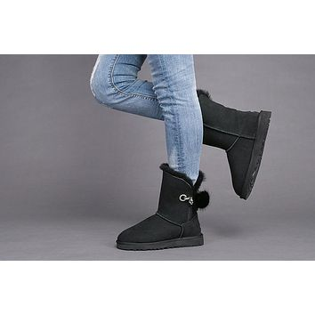Best Sale Online Fasshion Black UGG Limited Edition Classics Boots IRINA Women Shoes 1