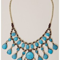 Treasure Blue Piccas Necklace